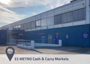 Portfolio of 33 Cash & Carry Markets